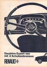 Renault-dauphine u. - Export - 1963-publicité-publicité-genuineadvertising - NL-Correspondance