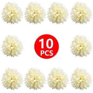 Fake Chrysanthemum Ball Flowers Artificial Flower Heads for Wedding Party Decor
