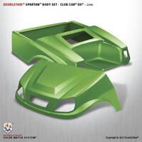 Doubletake Club Car DS Spartan Golf Cart Lime Body Cowl Set  Includes Light kit