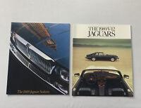 """1989 Jaguar Sedans """"XJ6 & V12"""" Car Dealer Showroom Sales Brochure Catalog"""
