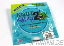 Nickel-Titanium Vorfach Knot 2 Kinky in 25lb (11,36 kg)