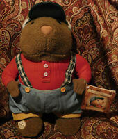 Hallmark Storybook Friends Rare Toy Granville Groundhog Plush New Tags NWT
