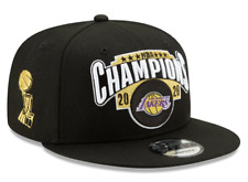 Los Angeles Lakers New Era 2020 NBA Finals Champions Locker Room 9fifty Lakers