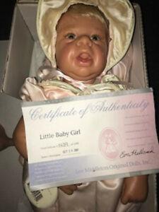"""Lee Middleton Vintage 2001 """"Little Baby Girl"""" by Eva Helland"""