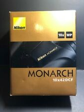 Nikon Monarch 10x42 Dcf Binoculars - New in Box