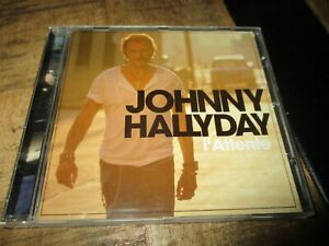 Johnny Hallyday-Cd-Boitier cristal-L attente-Collector Warner-2012