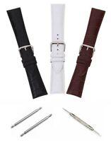 Ersatz Armband Hochwertig Leder 20mm für Rolex GMT Submariner + WERKZEUG & FEDER