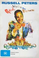 Russell Peters - Red, White and Brown (DVD, 2013) // Brand New