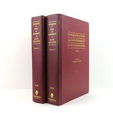 Handbook of Tests and Measurements for Black Populations Vols 1&2 Reginald Jones