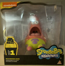 "SpongeBob Squarepants Surprised Patrick Masterpiece Meme 8"" Series 1 Figure -NEW"