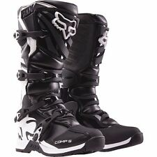 Fox Racing Youth Black Kids Comp 5 Dirt Bike Boots Motocross 2017 SIZE 8