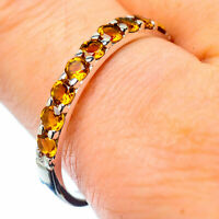 Citrine 925 Sterling Silver Ring Size 11 Ana Co Jewelry R27174F