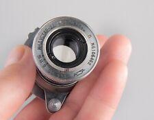 INDUSTAR-22 lens 50mm f/3,5 lens M39 Leica Zorki FED camera Elmar copy Red P
