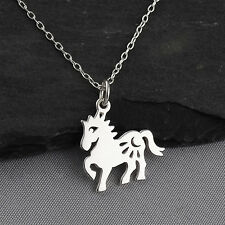 Year of the Horse Necklace - 925 Sterling Silver - Chinese Zodiac Pendant NEW