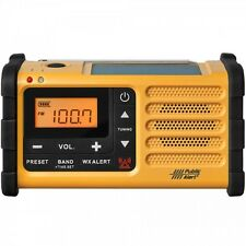Sangean AM / FM / USB Handcrank Dynamo Solar Powered Emergency Alert Radio MMR88