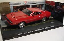 007 James Bond Diamonds are forever MUSTANG MACH 1 1/43 die-cast