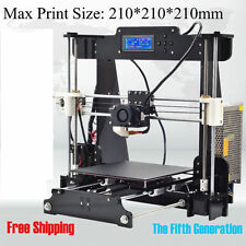 Anet A8 FDM 3D Printer High Precision Reprap Prusa i3 DIY & LCD Home Printing