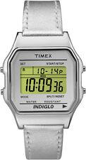 Reloj De Cuarzo TW2P76800 Mujer Timex T Patrimonio De Plata De Cuero