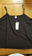 Women's black vest top from VERO MODA BNWT size XL