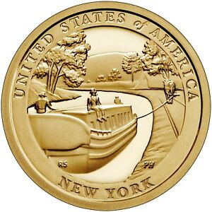 2021-P & D INNOVATION DOLLARS - NEW YORK (3RD coin in 2021 series)