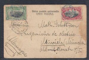 42918) Belgisch Kongo 1903 LEOPOLDSVILLE AK nach München