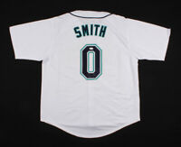 Seattle Mariners Mallex Smith Signed Baseball Jersey JSA COA Authentic Autograph