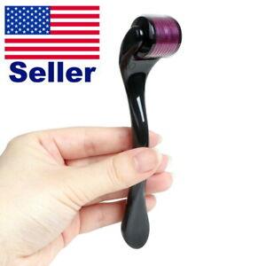 540 Microneedle Skin Roller Micro Needle Derma Dermaroller Scars Wrinkle Therapy