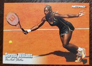 2003 Net Pro Serena Williams Rookie Card RC #1