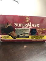 NEW SUPERMASK 1999 HORSE FLY MASK HORSE Foal Pony Blue