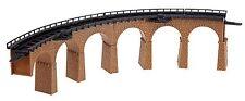 Faller 222586 Spur N, 2 Viaduktbrücken, gebogen, R: 193mm, Bausatz, Neu