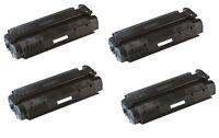 4x Toner Schwarz, kompatibel zu HP C7115X Laserjet 1200 3.500 Seiten