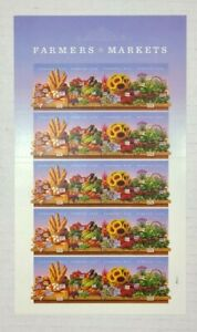 Farmers Market 2014 / #4912 - #4915 / Forever Stamps Sheet of MNH