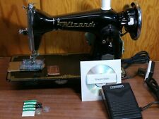 Wizard 1.5 Amp Heavy Duty Sewing Machine Upholstery Leather Denim Serviced