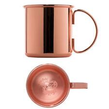 CopperGarden® Kupfertasse ❀ Humpen 0,46 Liter ❀ Kupferbecher mit Henkel ❀ Kupfer