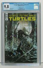 CGC 9.8 Teenage Mutant Ninja Turtles #110  TMNT 1:10 Ratio Variant 1st Road Hogs
