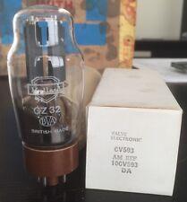 GZ32 CV593 MULLARD NOS BOXED VALVE/TUBE
