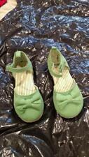 Gymboree Shoes Fairytale Forest Velvet Flats Tiara Princess Size 8
