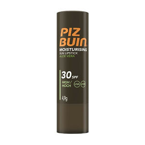 Piz Buin Moisturising Sun Lipstick 4.9g SPF 30 High - UVA/ UVB Protection