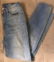 J. CREW Lookout High Rise Crop Women's Jeans 27x26