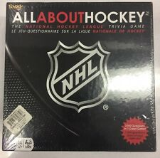 2009 Fundex All About Hockey NHL Trivia Game NIB/Sealed Complete. Rare.