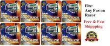 64 GILLETTE Proglide Power Razor Cartridges FUSION Blades Refills 8*8 Shaver USA