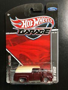 2010 Hot Wheels Garage Series '56 Ford  metal/metal + RR's + Redline tires