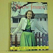 Marie France Magazine N° 238 - 20 Juin 1949 - Ancien Magazine Français