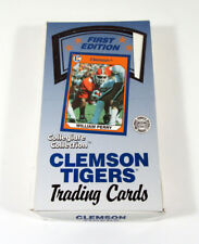 1990 Collegiate Collection Clemson Tigers First Edition Wax Box