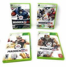 Madden NFL Bundle - 2007, 2010, 2011, 2012 - XBOX 360 - Pre-Owned