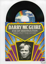 45 RPM SP BARRY McGUIRE (EVE OF DESTRUCTION )BARRY MANN (WHO PUT THE BOMB)