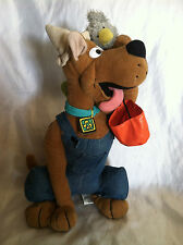 SCOOBY-DOO HALLOWEEN HOBO W/BIRD, HAT AND BAG NEW PLUSH STUFFED ANIMAL WITH TAG