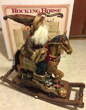 Rocking Horse With Santa Claus - Large Christmas Rocking Horse