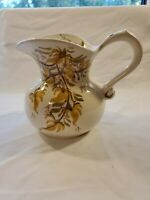 """Vintage Clinchfield Handpainted Collectible Pitcher 5"""""""