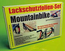 Lackschutzfolie Rahmenschutz Folie Set 24 Teile transparent für Mountainbike